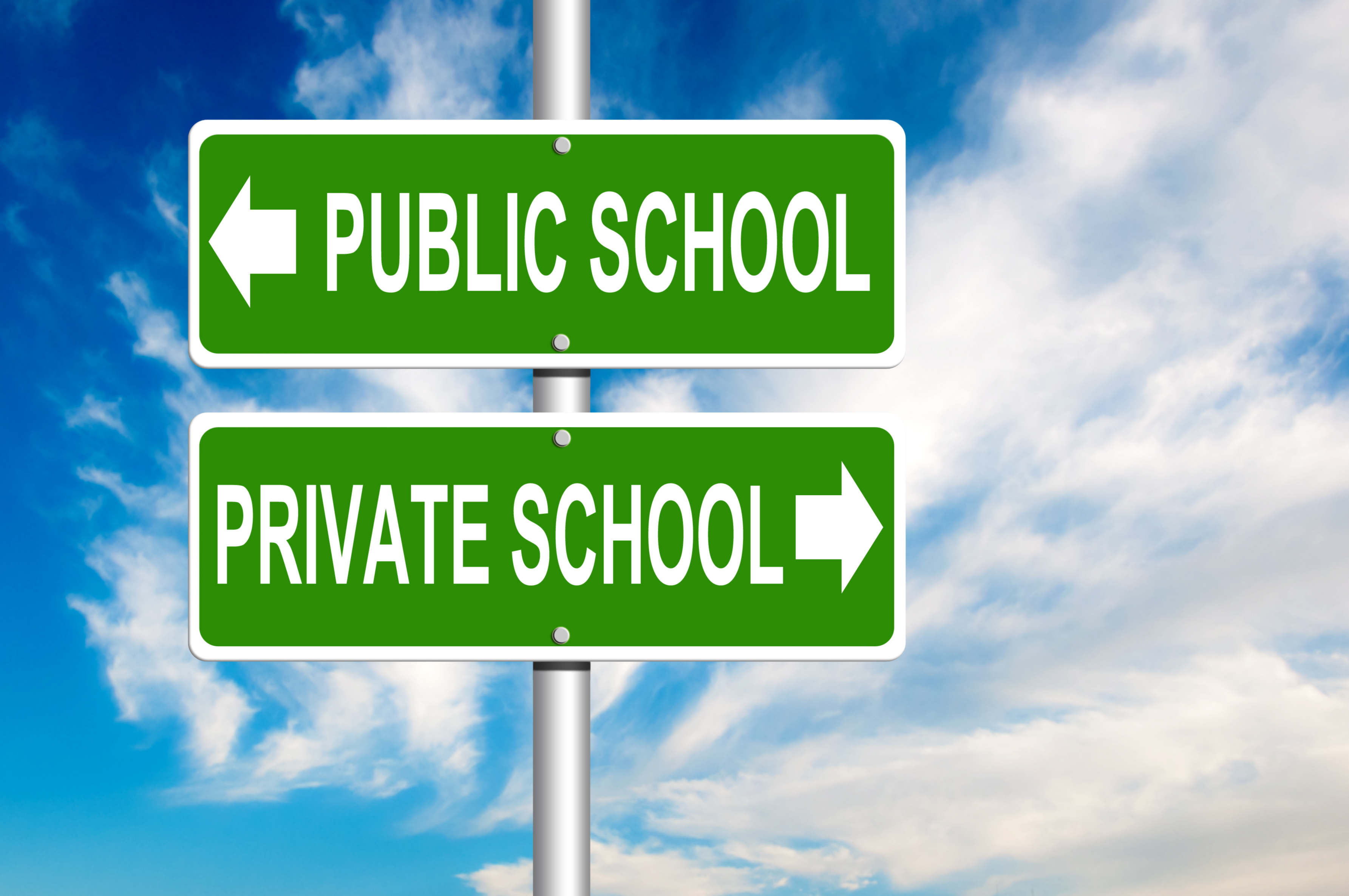 a comparison between the quality of public and private education 5 major differences between public and private schools share flipboard email print  education is an important part of raising children and preparing them to live successful lives for many families, finding the right school environment isn't as easy as just enrolling at the local public school  class size is one of the major differences.